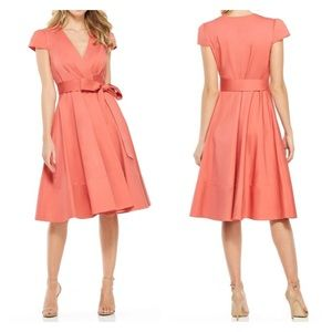 Gal Meets Glam Addison Desert Rose Wrap Dress